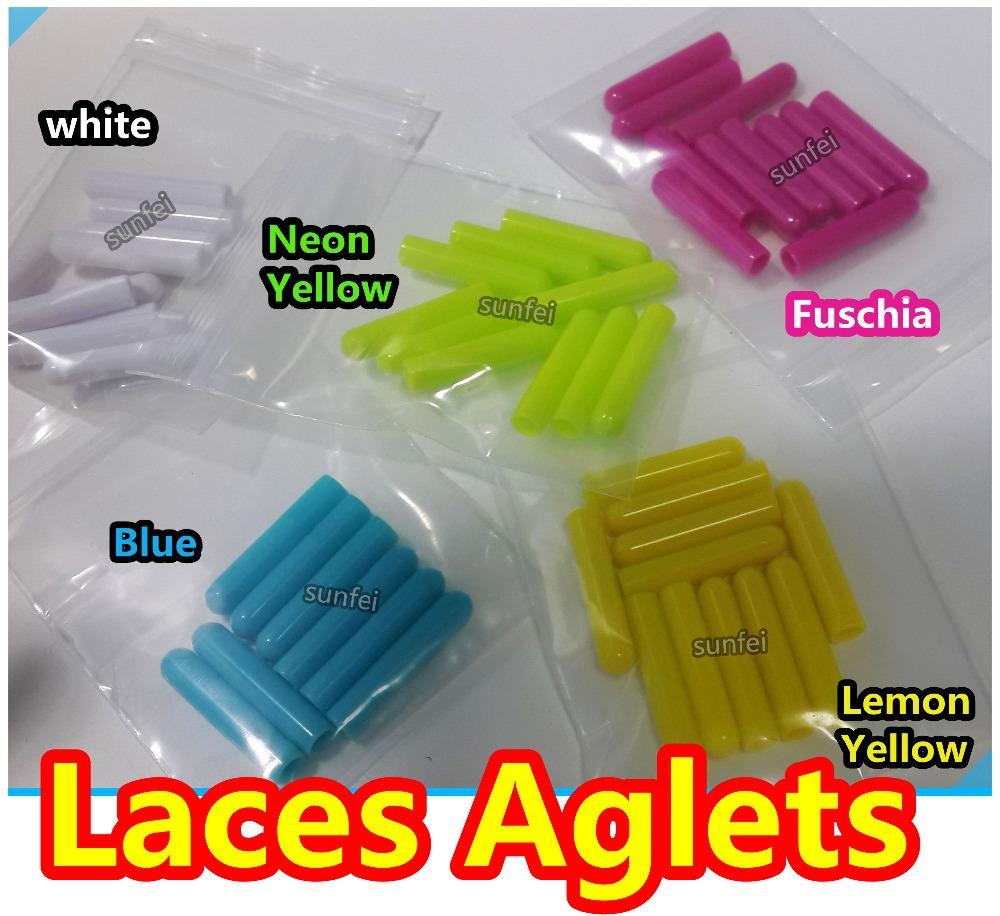 125sets(500pcs )/lot~ Plastic Aglets~Laces Aglets~Lace