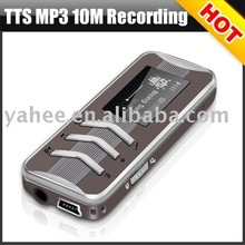 Stylish MP3 with 10 Meters Recording Function,Y111