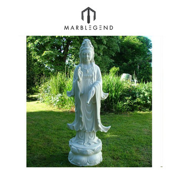 Awesome Large Garden Statue Guan Yin Bodhisattva Buddha Sculpture