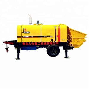 China hot selling electric/diesel 40/50/60/80m3/h concrete pump with best quality&low price