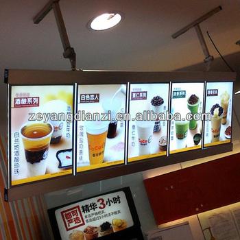 new innovative led lighting advertising takeaway menu board buy