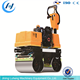 land floor vibro hand tire asphalt pedestrian new road roller price - LUHENG