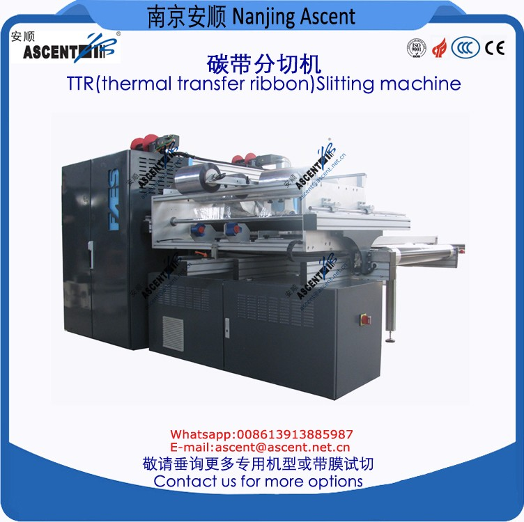 ribbon slitting machine high speed