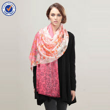 Wholesale pure mongolian cashmere Shawl SWC729 women scarf for winter