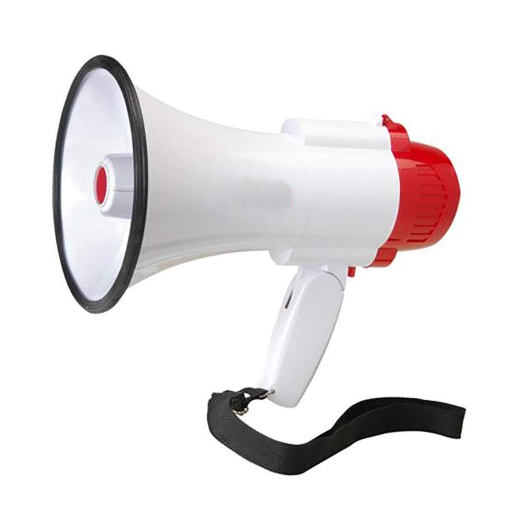 [WALLER PAA] Pro Handheld Megaphone Bull Horn with Siren and Voice Recorder