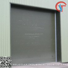 Cheap security steel warehouse roll up door