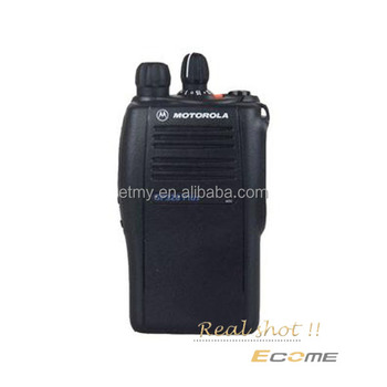 Motorola GP328 mais mini walkie talkie VHF / UHF