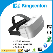 Newest electronic gadget free watching blue english video film vr box