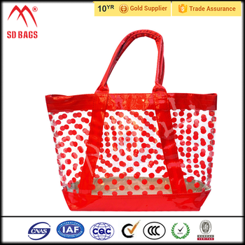 New recycle laminated garment cover beach bag,tote beach bag supplier,promotion bag
