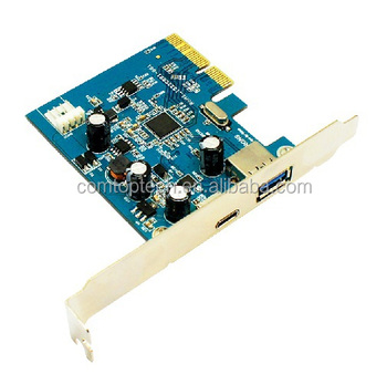Pci-e Cable Extender Riser Usb 1x To 16x Extender Card With Molex ...