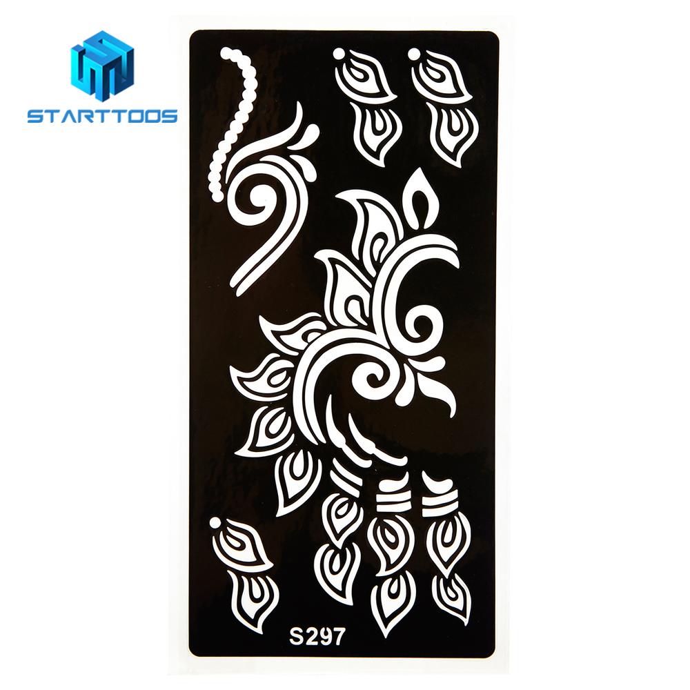 China Reusable Airbrush Tattoo Stencil China Reusable Airbrush