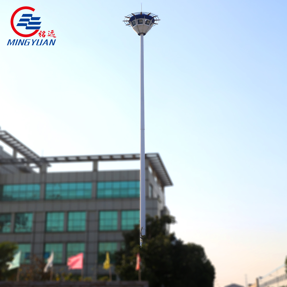 HDG 18m light pole export to Mongolia