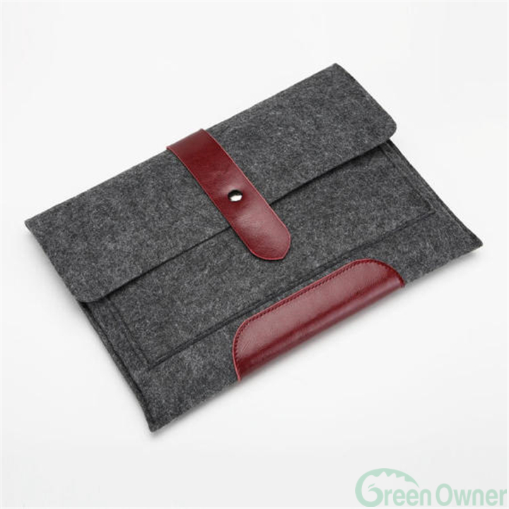laptop sleeve felt, case for macbook, laptop case leather