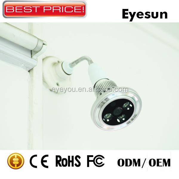Wireless Cctv Camera,Light Bulb Wireless Hidden Camera,Indoor Cctv ...