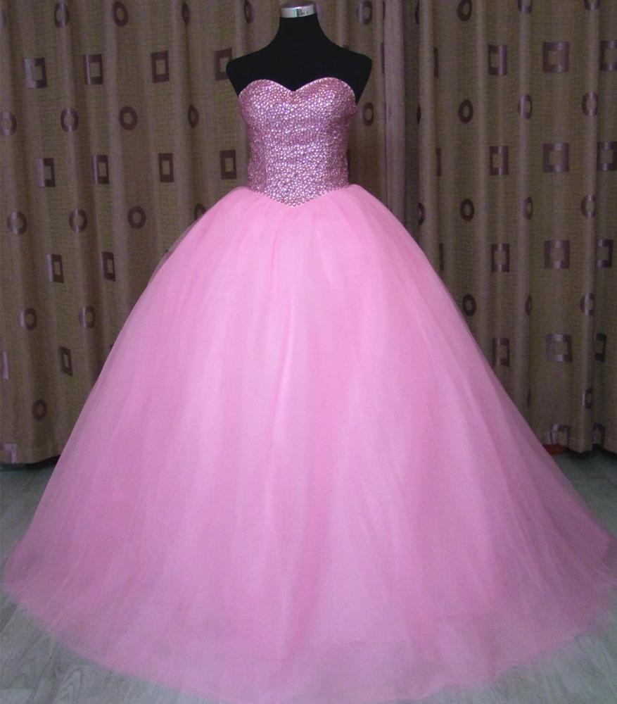 Venta al por mayor vestidos de boda rosa clara-Compre online los ...