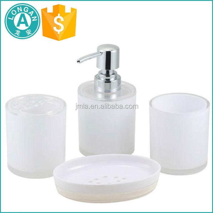 White Plastic Bathroom Accessories White Plastic Bathroom