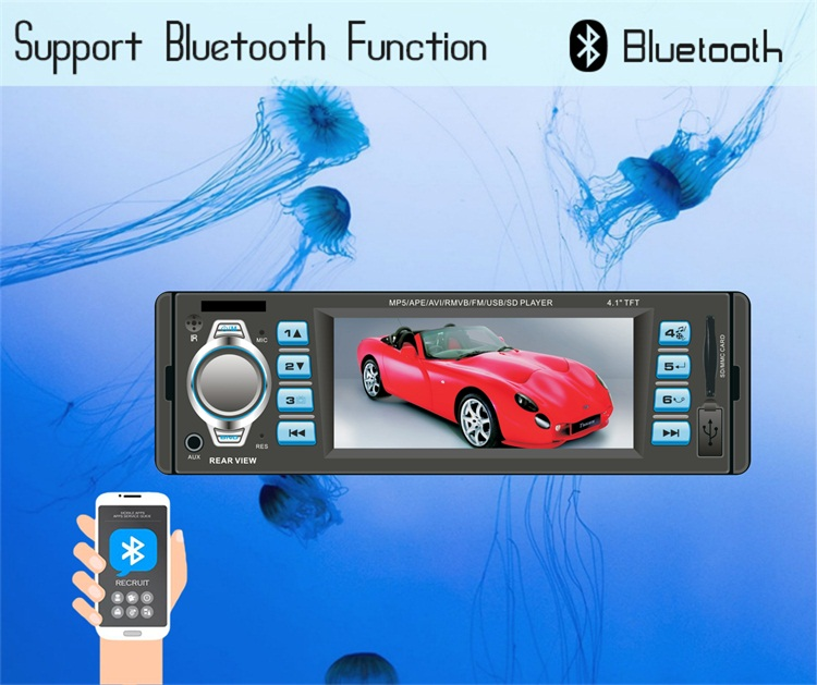 Fixed Panel 1 Din Lcd Tft Screen Wiring Diagram Software Download Fm Transmitter Car Mp5 Player