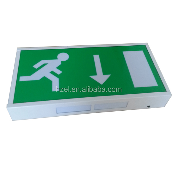 Custom Led Exit Signs Industrial Emergency Exit Sign