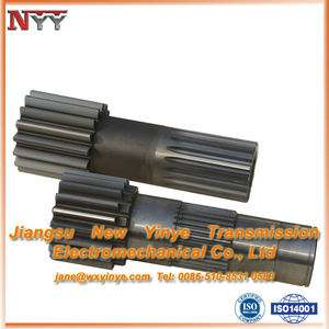 High hardness gear of Gear shaft and Spline rolling