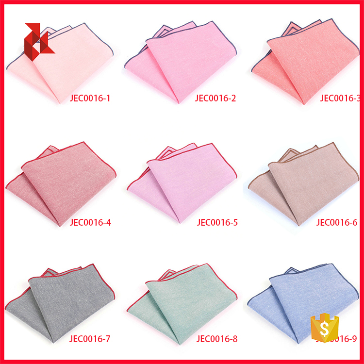 Good Quality Fashion Linen Pocket Square For Men
