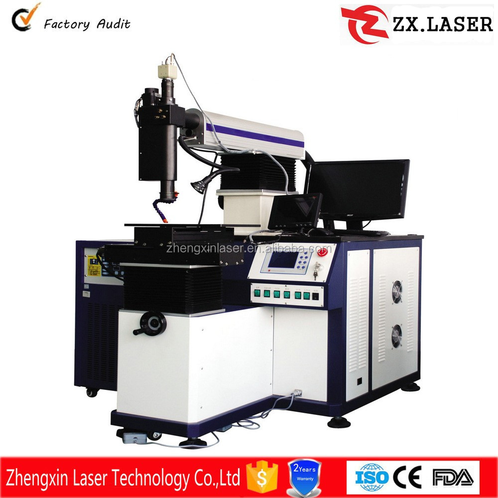 2016 new hot 4 Axis or robot arm Multifunctional Automatic Laser Welding Machine for precision parts welding