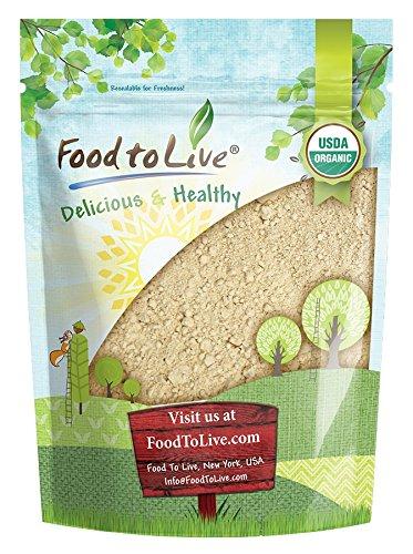 Organic Black Maca Powder by Food to Live (Raw Ground Maca Root, Non-GMO, Kosher, Fine Flour, Bulk) (8 Ounces)