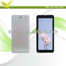 Zhixingsheng 2013 google tablet android 7 inch/notebook phone call mini laptop/touch tablet with sim card made in china