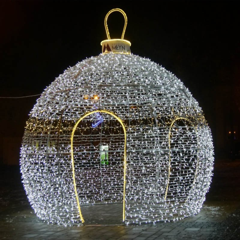 Outdoor Christmas Light Displays Commercial Giant Walk