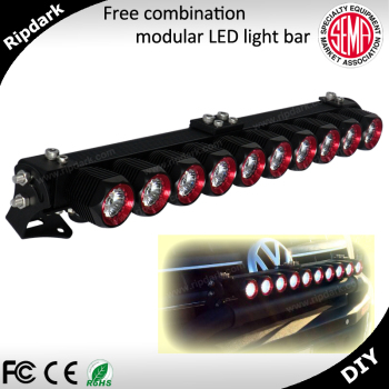 Newest design in america diy 4x4 led light barmodular led bull newest design in america diy 4x4 led light bar modular led bull bar light for mozeypictures Images