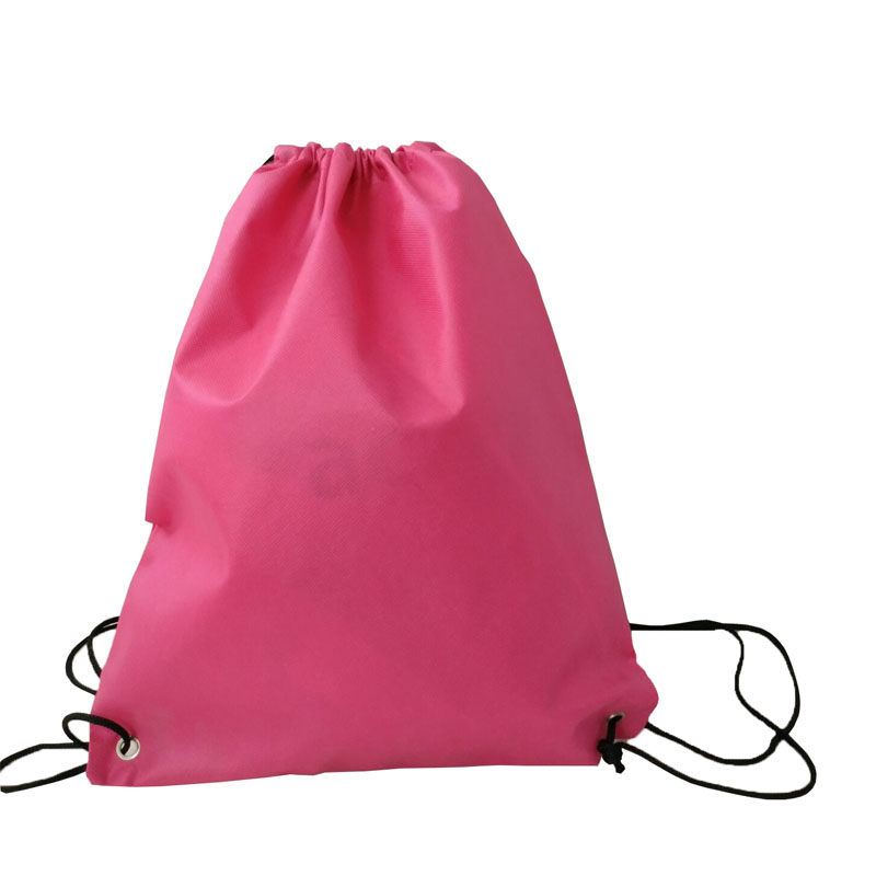 Wholesale Backpack cheap non woven drawstring bag