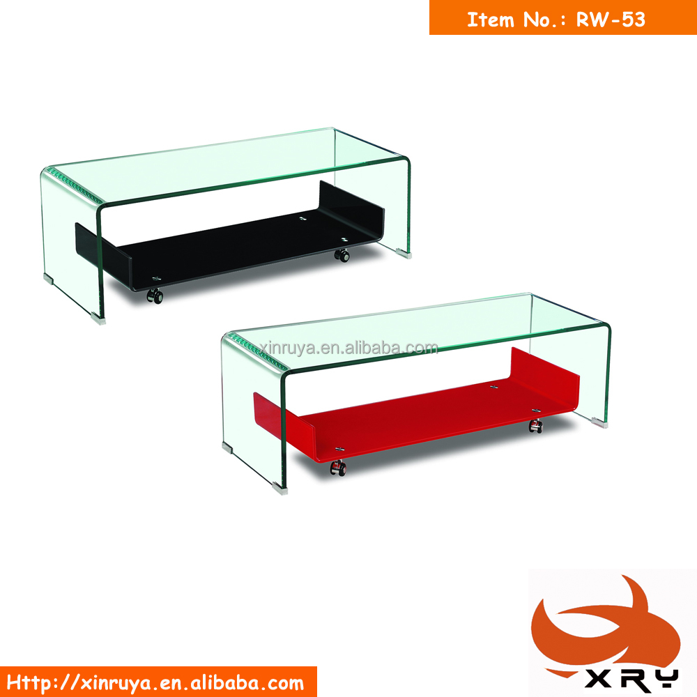 Red Glass Coffee Table, Red Glass Coffee Table Suppliers And Manufacturers  At Alibaba.com