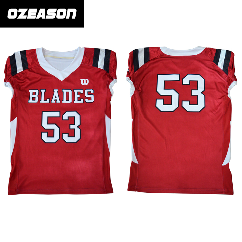 low priced 187a9 95b48 Wholesale Custom American Football Uniform Kits Cheap American Football  Shirts Sublimated Football Jerseys - Buy American Football Wear,Sample ...