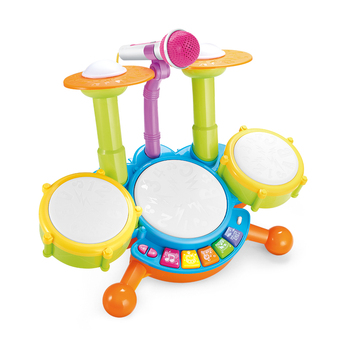 Educational Toys Kid Dynamic Jazz Drums Toys Musical Knock