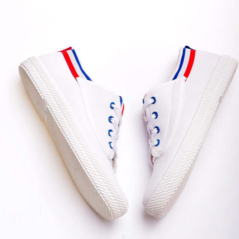 7e09c2c90a83 High quality shoe makers in china all star lace up white women school shoes