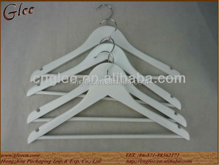 white wood clother hangers wholesale