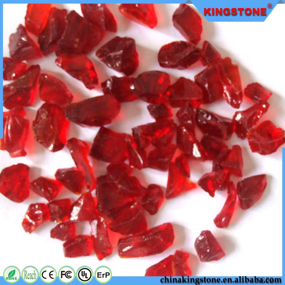 Many color and different size broken glass cullet for sale