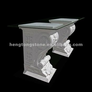 White Marble Table Base With Glass Top Buy Marble Table With