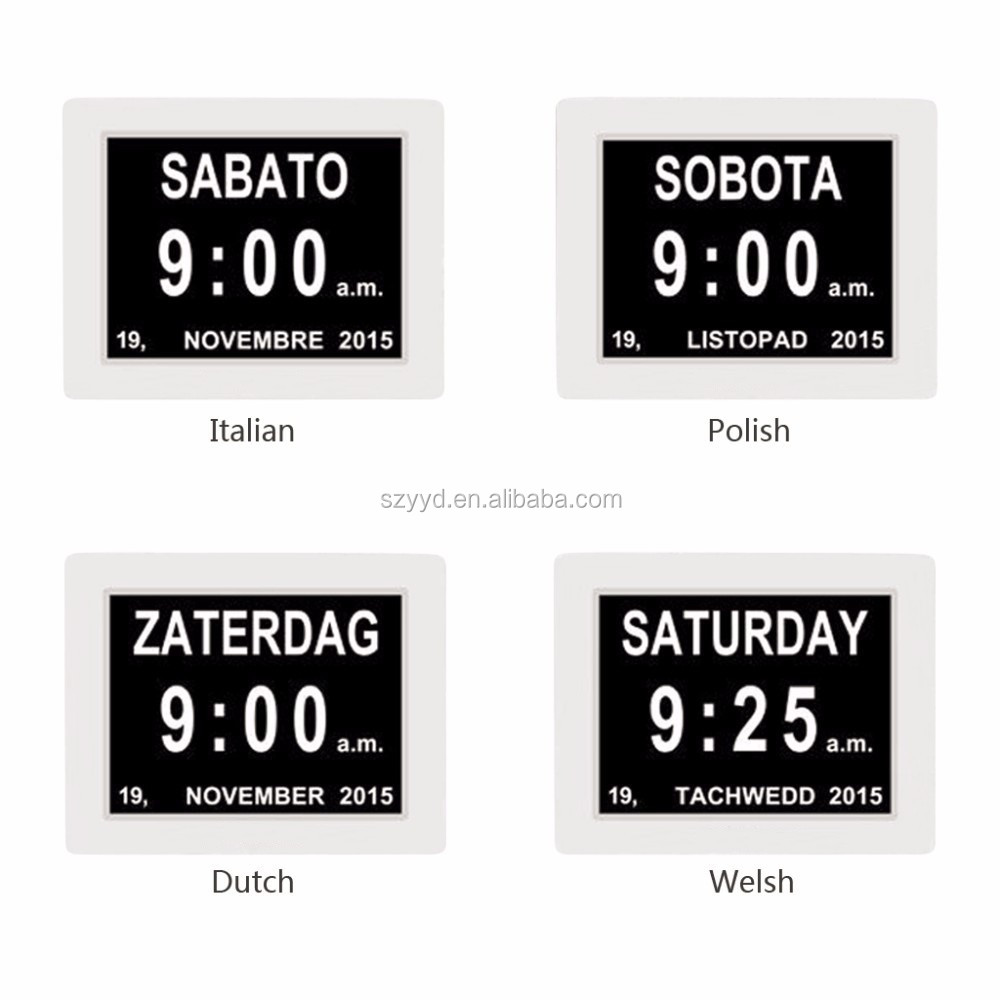 ... digital calendar day clock for dementia elderly seniors - Alibaba.com