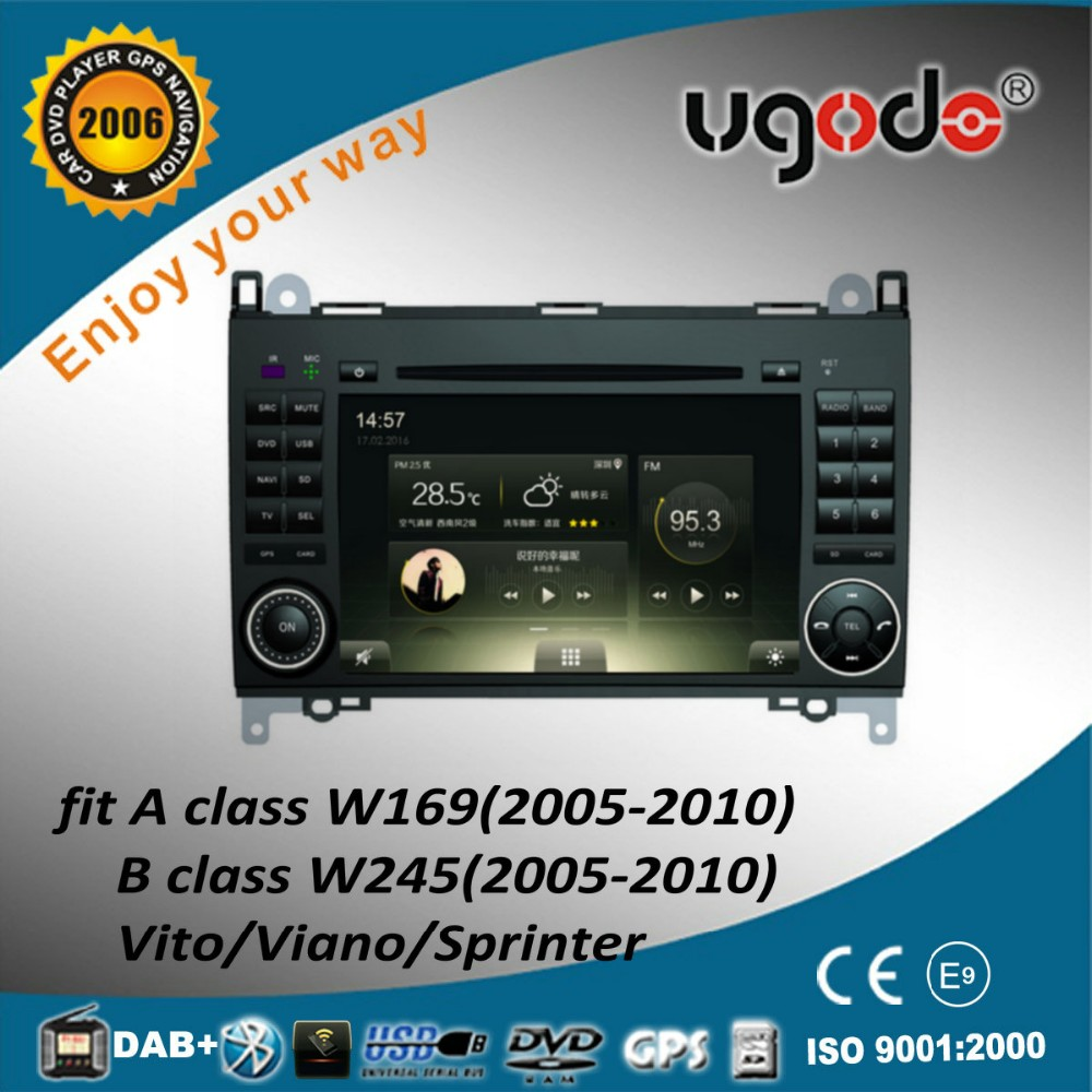 For B200 Vito/Sprinter android 4.4 car dvd player with 3G,wifi,1G RAM,16GB Nand,1080P