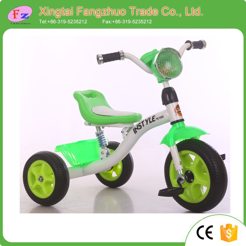 2016 ride on toy cheap hover board 3 wheels new model metal child tricycle for sale