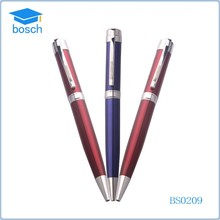 Promotional jumbo twist mechanisms funny ball pens blue&red