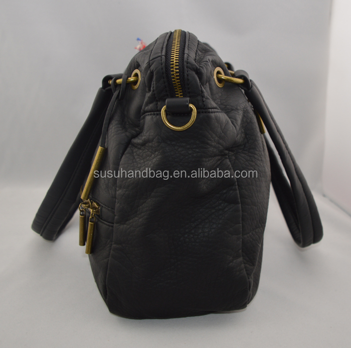 High Quality PU Women Handbag Custom Logo
