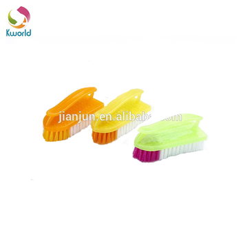 Household plastic clothes cleaning brush