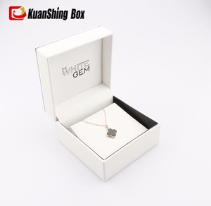Elegant Plain White Necklace Box for Your Love