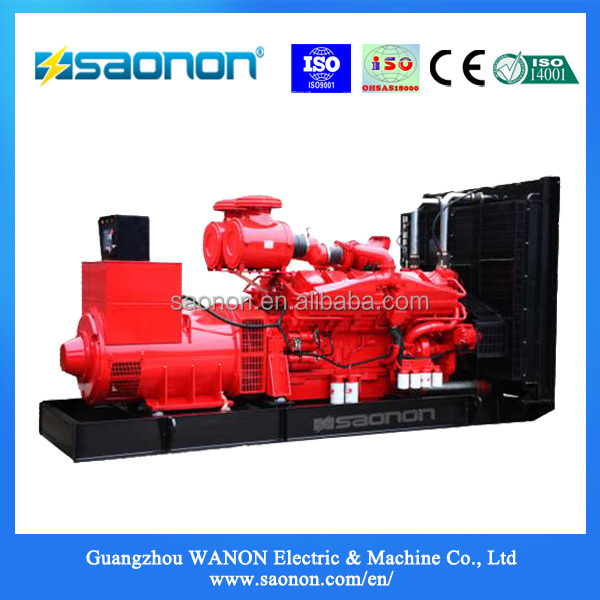 550 kva High Quality Running Diesel Generator price list open type diesel genset
