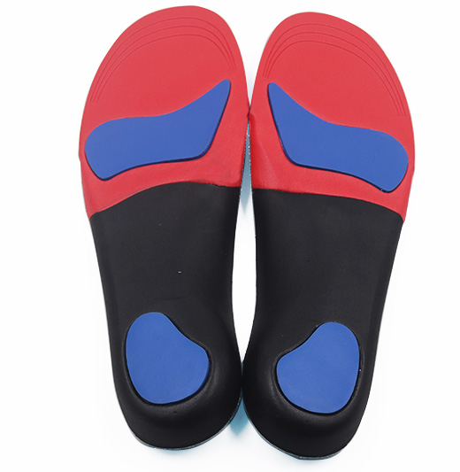 d62702683f 2019 new style Poron foot pad hard EVA plantar fasciitis arch support  bowlegs correction orthotic insoles