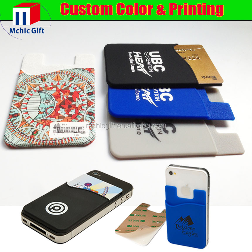 best cheap 8f4cf e7a3c Custom Adhesive 3m Sticker Rubber Cell Phone Silicone Credit Card Holder -  Buy Silicone Credit Card Holder,Silicone Sticky Credit Card Holder,Silicone  ...