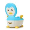 Cheap Classical plastic baby potty baby using potty training toilet chair