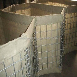 High quality military Hesco blast barrier bastion wall for security system (factory)