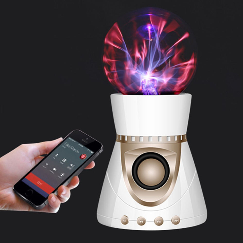 Fantasy Magic Music Plasma Ball BT Wireless speaker